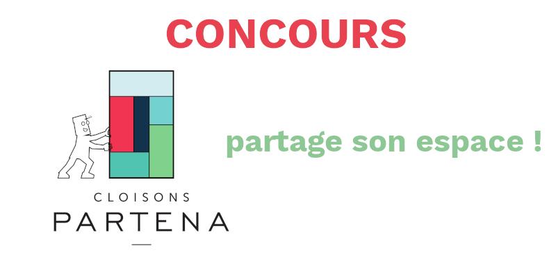 Concours Envie d'espaces - cloisons Partena partage son espace